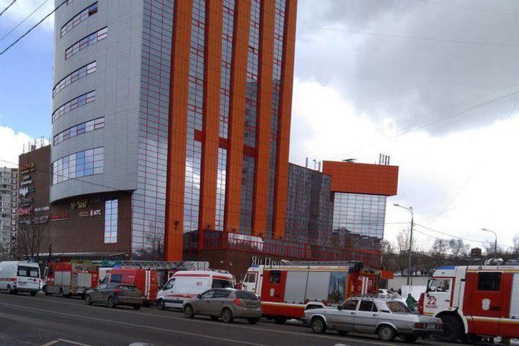 В Москве горит очередной торговый центр - ВИДЕО   Eurasia Diary de7999190b1