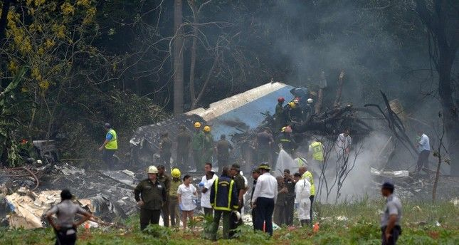 Plane carrying 104 passengers crashes after takeoff from Havana