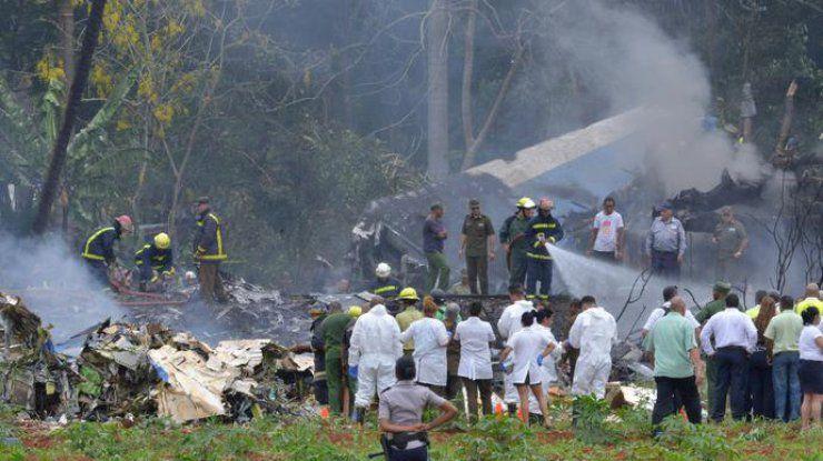 Страшная авиакатастрофа на Кубе - Более 100 погибших - ВИДЕО - ФОТО