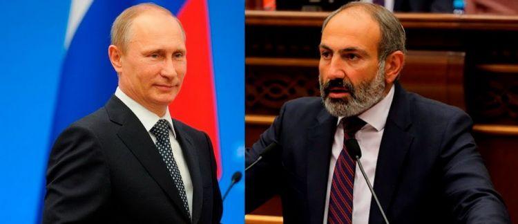 Пашинян: «Мы обсудили с Путиным Карабах»