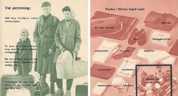 İsveç'te, 'Savaş çıkarsa' kitapçıkları onlarca yıl sonra yeniden basılıyor