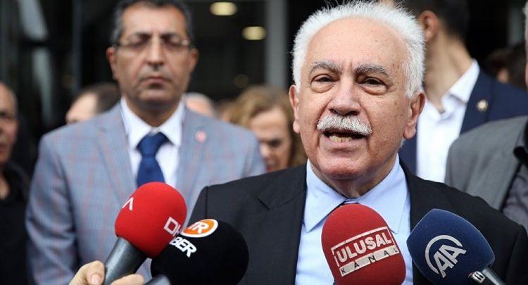 Perinçek'ten Demirtaş'a: HDP için tek çıkış yolu üyelerin Vatan Partisi'ne katılmasıdır