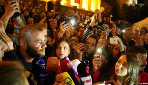 Главред Грузинформ: протесты в Грузии приняли политический характер