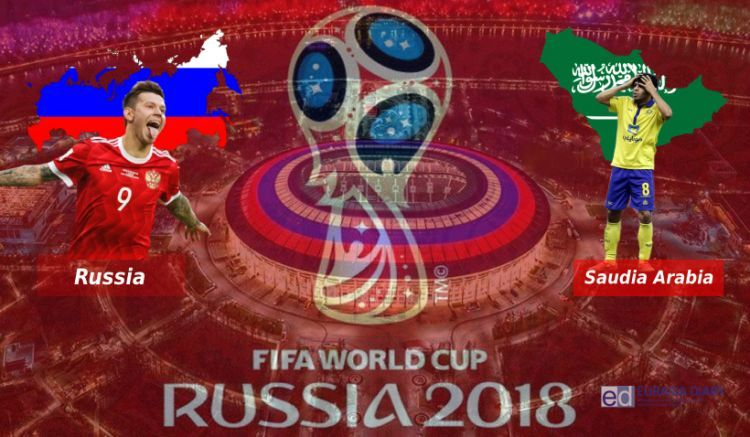World Cup fever begins as host Russia takes on Saudi Arabia