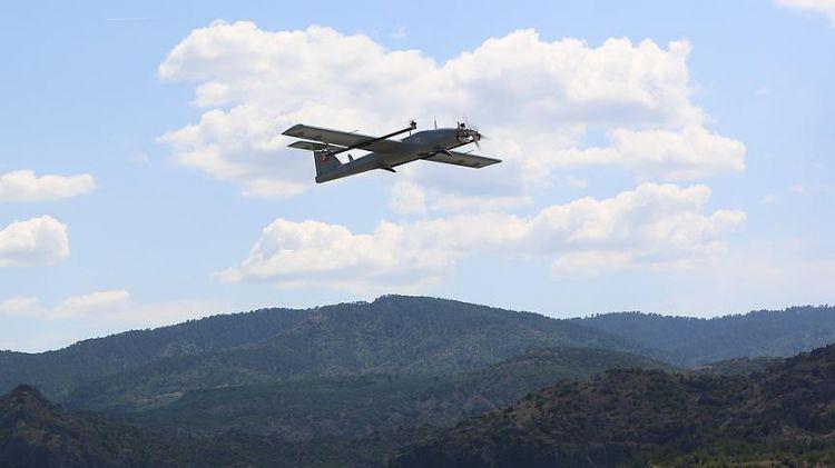İnsansız hava aracı 'Çağatay' ilk görevine çıktı - FOTO GALERİ