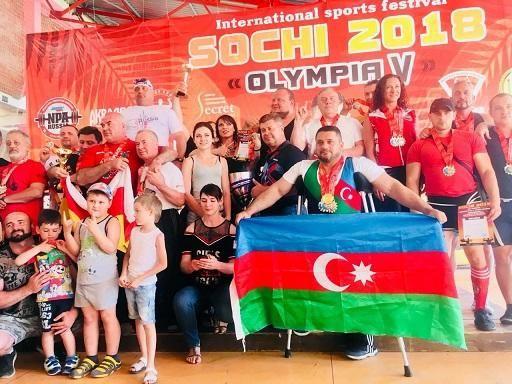 Dünyada ilk - paralimpiyaçımız sağlamlarla yarışdı və... - FOTOLAR