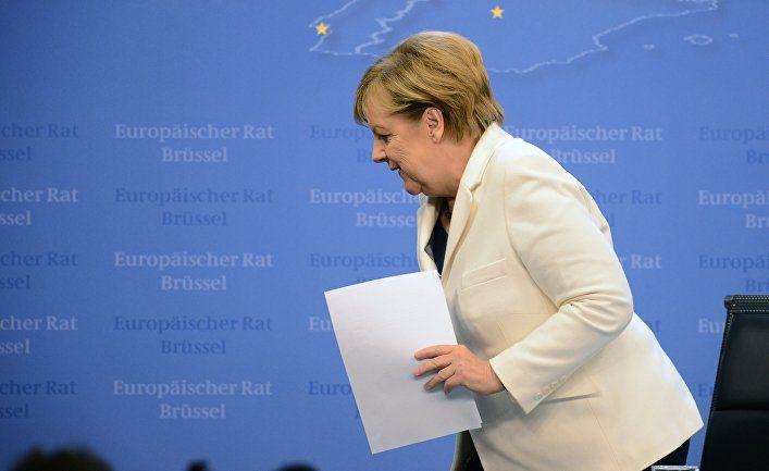 В Германии заявили о крахе карьеры Меркель