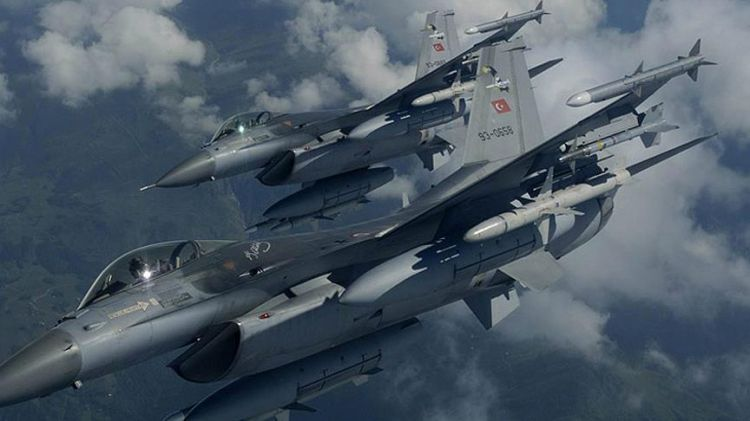 Turkish jets 'neutralize' 35 PKK terrorists in Qandil
