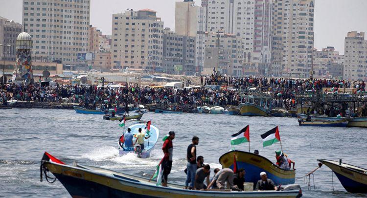"""فرنسا تمنع قاربين من أسطول """"حرية غزة"""" من الرسو في باريس"""
