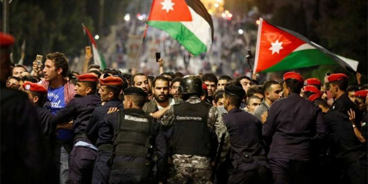Events in Jordan as a reminder of the Arab spring - EXCLUSIVE