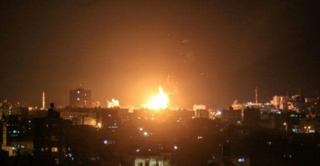 Israeli planes hit 25 targets in response to Gaza rocket fire