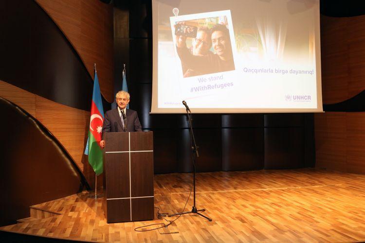 В Баку отметили Всемирный день беженцев - ФОТОg