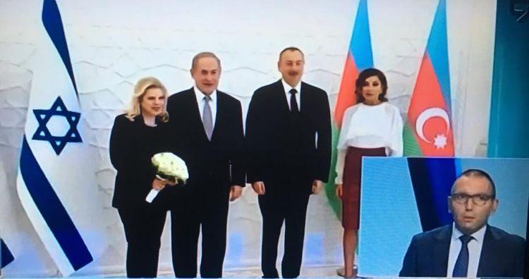 На израильском Девятом телевизионном канале был дан комментарий об израильско-азербайджанском стратегическом партнерстве - ФОТО