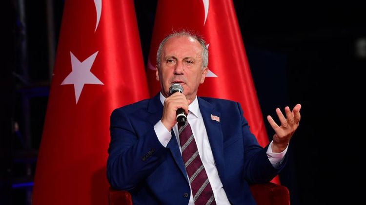 CHP'nin cumhurbaşkanı adayı İnce: Bakanlar Kurulu sadece CHP'lilerden oluşmayacakg