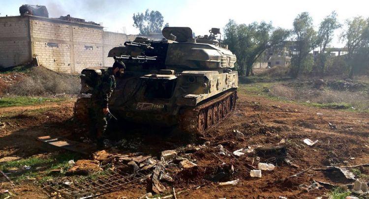 واشنطن تبلغ المعارضة السورية بأنها لن تتدخل في جنوب البلادg