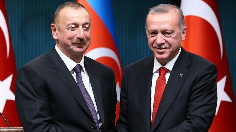 İlham Aliyev, Cumhurbaşkanı seçimlerdeki başarısından dolayı Erdoğan'ı kutladı
