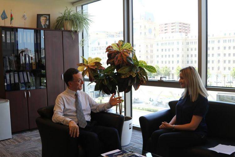 Прощальное интервью Фурио де Ангелиса на посту руководителя УВКБ ООН в Азербайджане - ВИДЕО