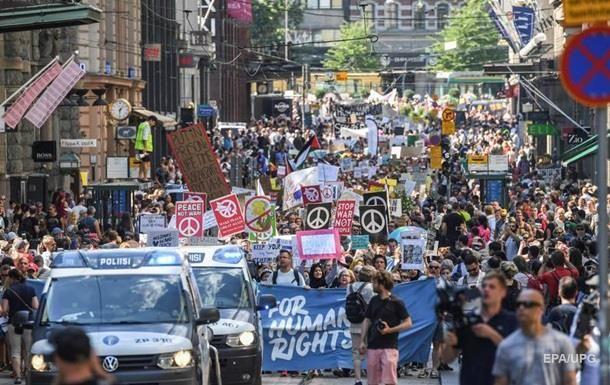 Встреча Трампа и Путина: в Хельсинки протесты - ФОТО