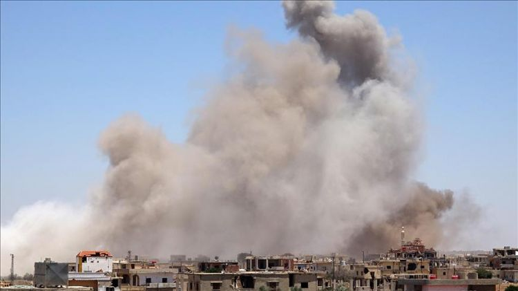 Assad forces bomb school in Quneitra; 10 killed