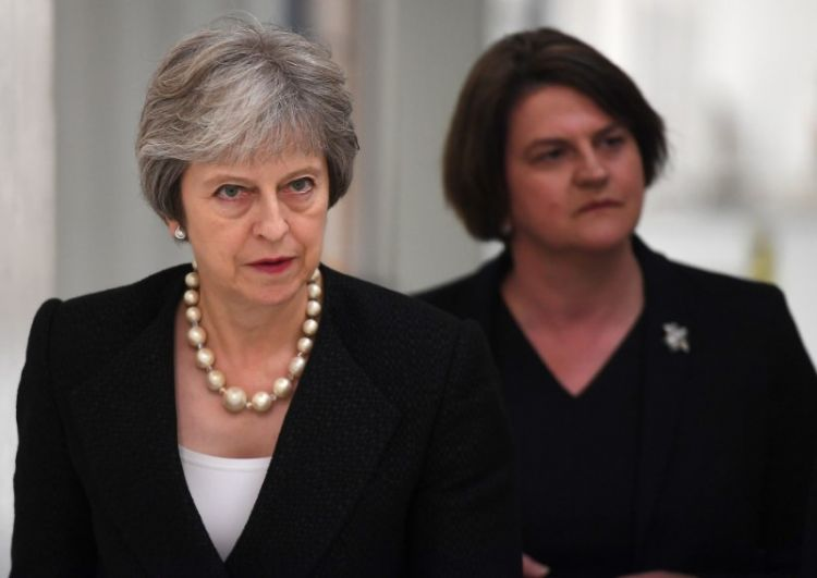 UK's May demands new deal from EU on Irish border backstop