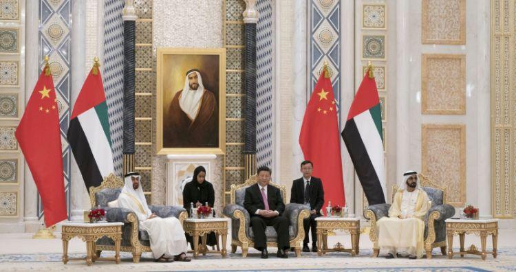 الإمارات والصين تتفقان على تأسيس علاقات شراكة استراتيجية شاملة