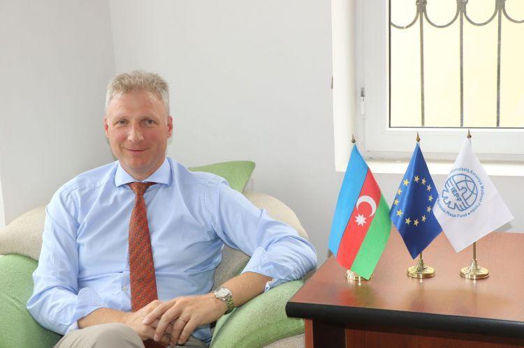 Глава делегации ЕС в Азербайджане рассказал о поездке в прифронтовые районы Азербайджана - ВИДЕО