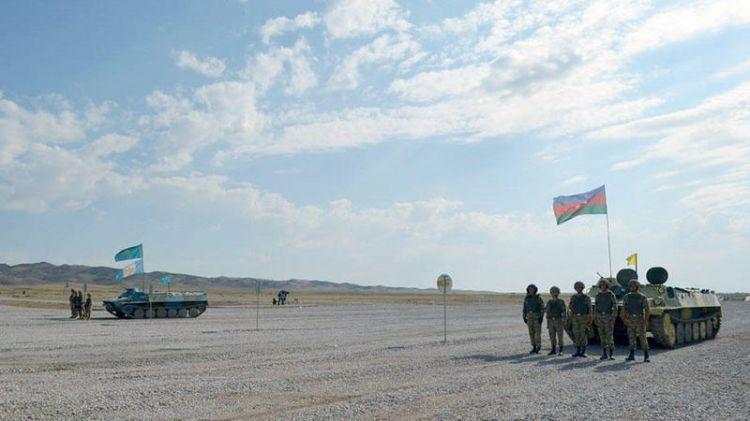 Azərbaycan artilleriyaçıları üçüncü oldu - VİDEO