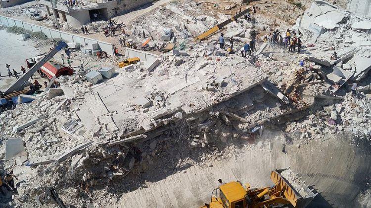 İdlib'in Sermada ilçesinde patlama - 32 ölü, 45 yaralı