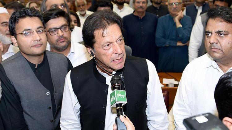 İmran Xan Pakistanın yeni Baş naziri seçilib
