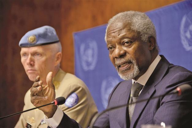 Kofi Annan, former UN secretary general, dies
