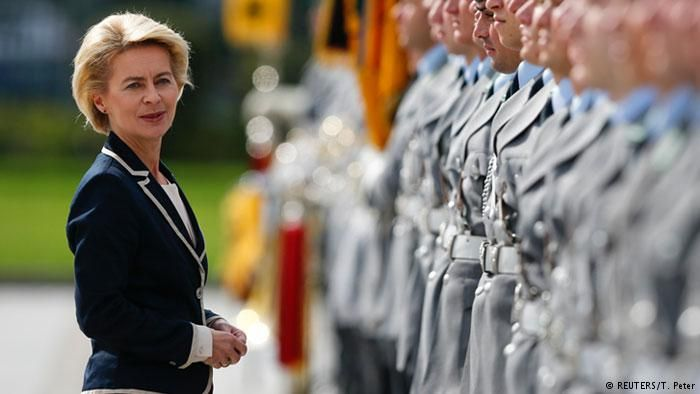 German defense minister upbeat on chance for more weapons procurement