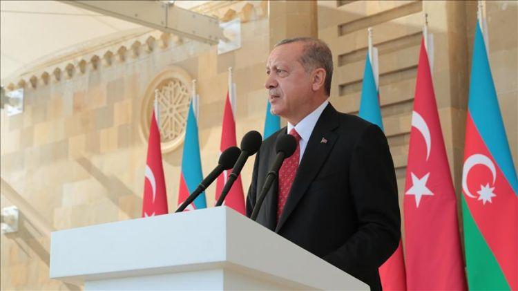 Cumhurbaşkanı Erdoğan'dan 'Yukarı Karabağ' açıklaması - 'Olmazsa olmaz şartıdır'