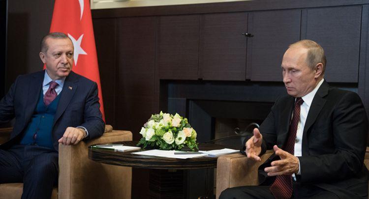 Кремль о переговорах Путина и Эрдогана