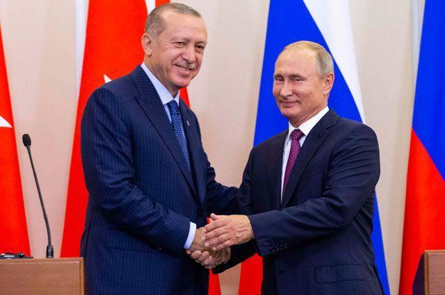 Встреча Путина и Эрдогана в Сочи: все, что нужно знать
