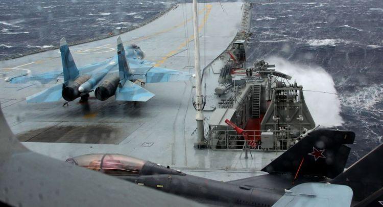 """بعد وصول """"هاري ترومان"""" إلى المتوسط... ماذا ستفعل روسيا بقوات التحالف في سوريا - الفيديو"""