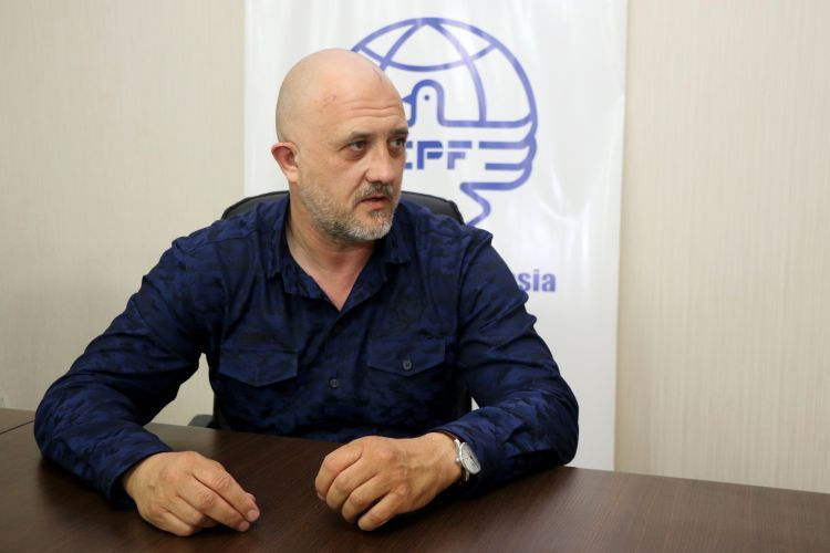 Russian journalist Yevgeny Mikhailov was accused of fomenting ethnic hatred - VIDEOg