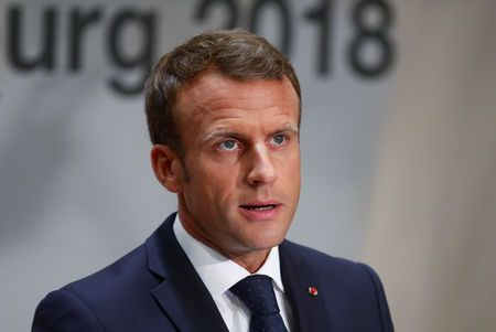 Macron's popularity falls further in September