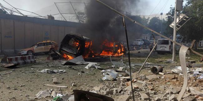 Əfqanıstanda seçki kampaniyası zamanı partlayış törədildi - 13 ölü, 40 yaralı