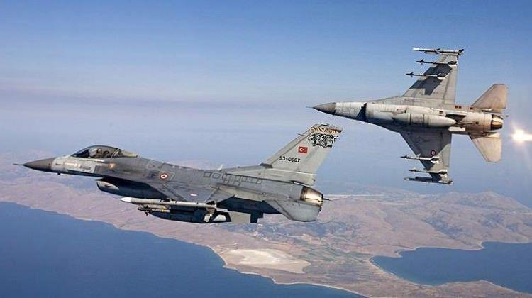 Irak'ın kuzeyine hava harekatı - 6 terörist etkisiz halde