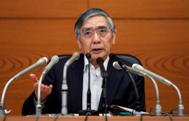 BOJ's Kuroda says Fed rate hikes good for global economy