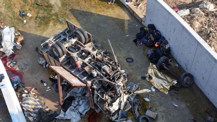 В Турции 19 нелегальных мигрантов погибли в ДТП