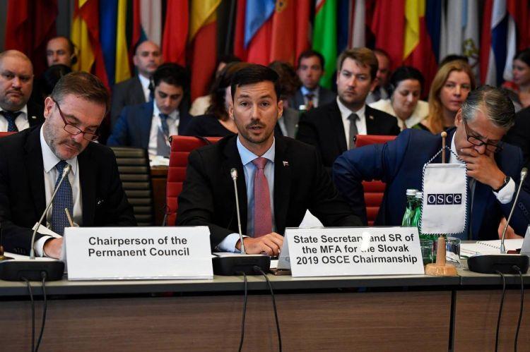Словакия в период председательства в ОБСЕ намерена активно содействовать карабахскому урегулированию