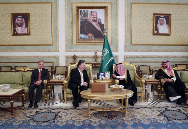 Mike Pompeo meets Saudi king over Khashoggi's disappearance - PHOTO - VIDEO