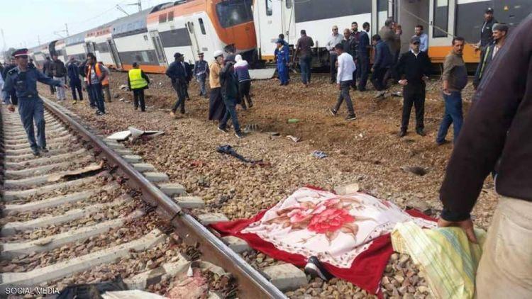 قتلى وجرحى بخروج قطار عن مساره غربي المغرب