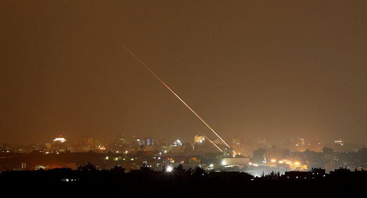 الجيش الإسرائيلي: إطلاق صاروخ من قطاع غزة وسقوطه في بئر السبع (فيديو+صور)