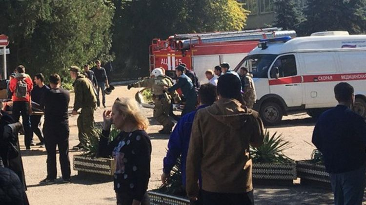Eighteen people killed in armed attack on Crimean college - UPDATED - VIDEO