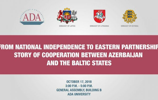 ADA and Embassies of Latvia, Lithuania and Estonia held International conference - PHOTOS