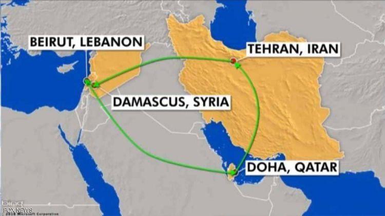 أجهزة استخبارات تكتشف رحلة إيران المشبوهة.. وحمولتها
