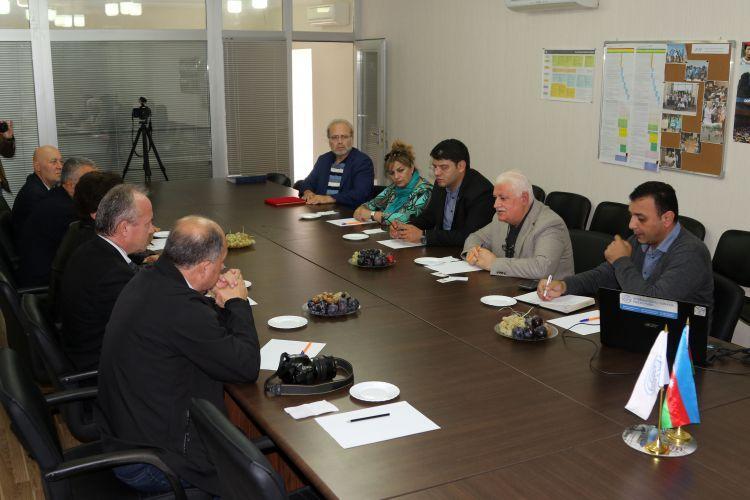 عقد المؤتمر بين مجلس الصحافة الأذربيجاني والممثلين عن الصحافة التركية