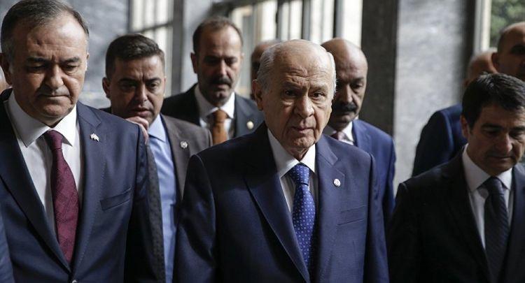 """Bahçeli'den Erdoğan'a: """"Teklifimizi uyuşturucu temeline indirmek fuzuli bir demagojidir"""""""